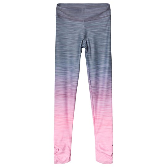 Bloch Pink Ombre Dance and Gymnastic Leggings Coral Ombre