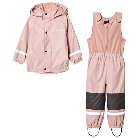 Kuling Ottawa Fleece Rain Set Woody Rose