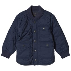 GAP Elysian Blue Quilted Jacket