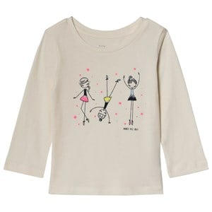 Image of GAP Cream Dance All Day Tee 2 år (3125239377)