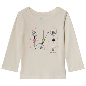 Image of GAP Cream Dance All Day Tee 5 år (3125239383)