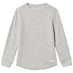 GAP Light Heather Grey Textured T-Shirt