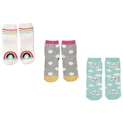 GAP 3-pack Multi-Design Socks