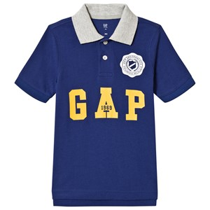 Image of GAP Drizzle Blue Polo XL (12-13 år) (3060381979)