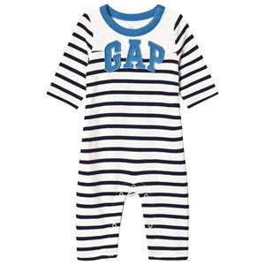 Image of GAP Logo Stripe One-Piece New Off White 12-18 mdr (1201780)