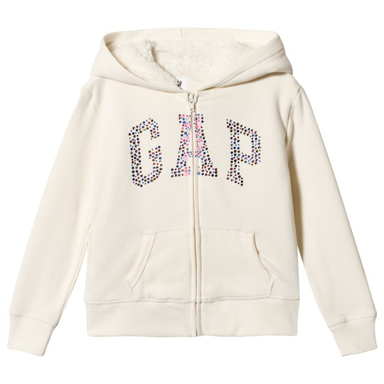 GAP Branded Hoodie Ivory Frost IVORY FROST