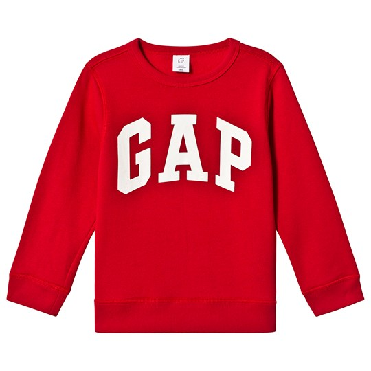 GAP Modern Red Logo Sweatshirt MODERN RED 2