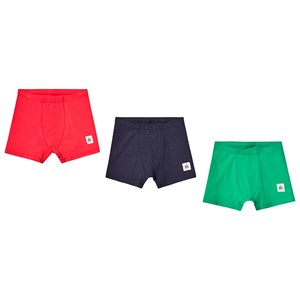 Image of A Happy Brand 3-Pack Boxers Green/Navy/Red 110/116 cm (3125280953)