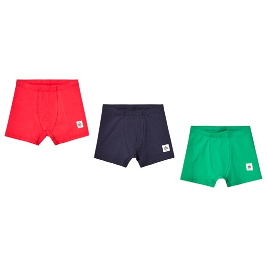 A Happy Brand 3-Pack Boxers Green/Navy/Red