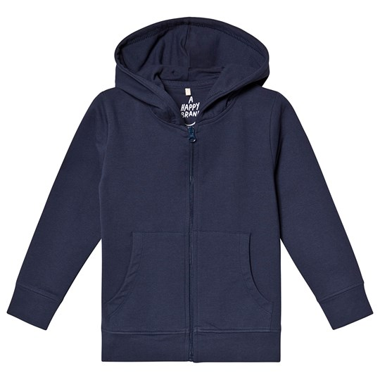 A Happy Brand Hoodie Navy