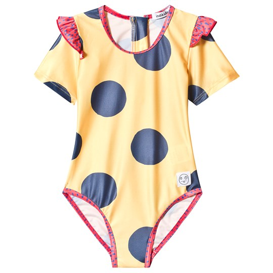Indikidual Yellow Spotted Swimsuit Dotty