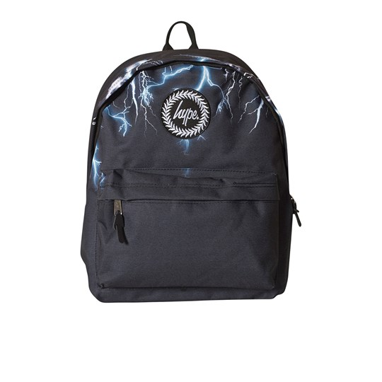 Hype Black Neon Lightning Backpack Black/multi