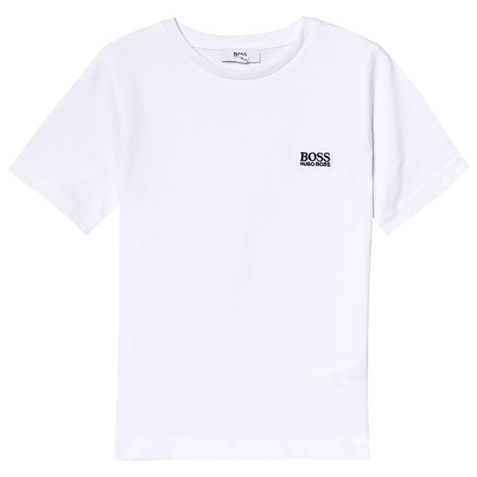 BOSS White Logo Tee 10B