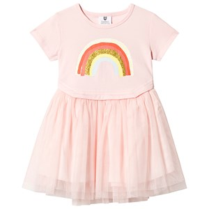 Image of Hootkid Pink Rainbow Tutu Dress 1 years (1244108)