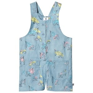 Image of Hootkid Unicorn Strap Romper Blue Multi 6 years (1244331)