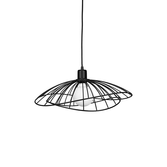 Globen Lighting Ray Ceiling Lamp Black Black