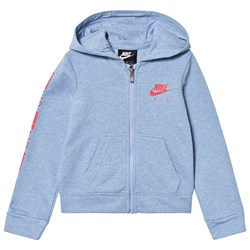 NIKE Blue Heather Nike Air Full Zip Hoodie