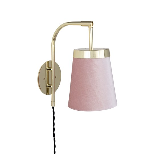 Globen Lighting Walther Wall Lamp Pink Pink