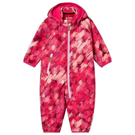 Reima Softshell overall, Kotilo Candy pink Candy Pink