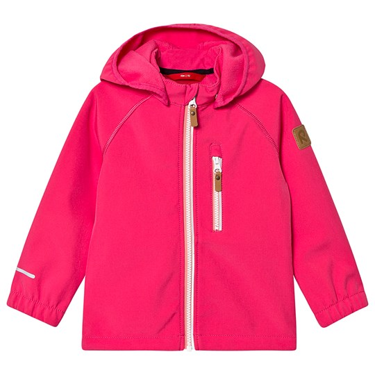 Reima Softshell jacket, Vantti Candy pink Candy Pink