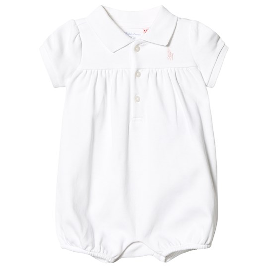 Ralph Lauren White Romper with Small PP 003
