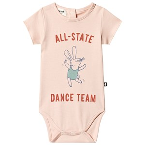 Image of Oeuf Dance Baby Body Light Pink 6 mdr (3125357469)