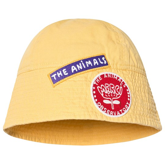 The Animals Observatory Starfish Kids Onesize Hat Yellow Yellow