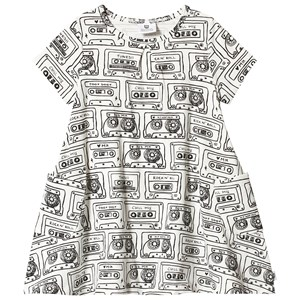 Image of Hootkid Cassette Print Tee Swing Dress 12 år (1243920)