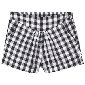 Image of Hootkid Black Check V Waist Band Short 14 years (1244042)