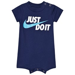 NIKE Navy Just Do It GFX Romper