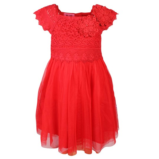 Me Too Uta Mini Dress Tango Red  Red