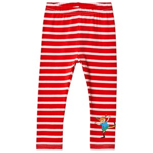 Image of Pippi Långstrump Pippi Leggings Red/Pink 122 cm (6-7 år) (3135225827)