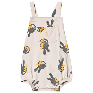 Image of The Bonnie Mob Bunny Bubble Overalls Sand 12-18 mdr (3125342109)
