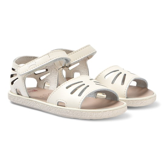 Camper Cream Butterfly Miko Leather Sandals 002