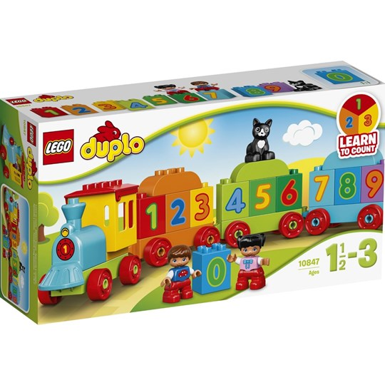 LEGO DUPLO 10847 LEGO® DUPLO® Number Train Multi