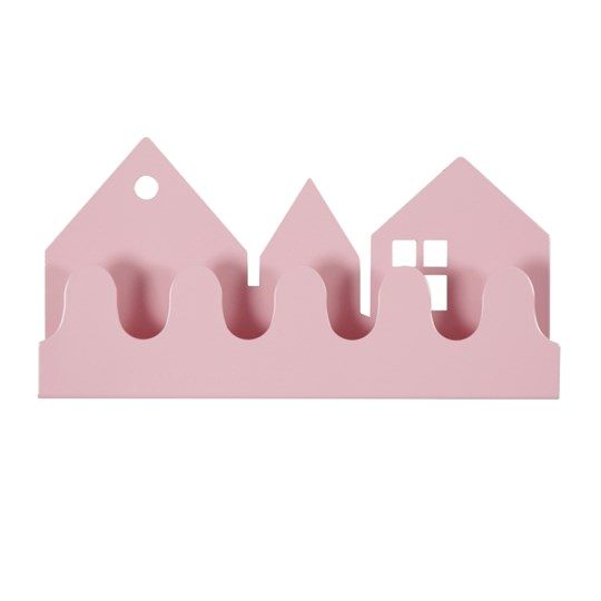 Roommate Village Coat Rack Pink Pink