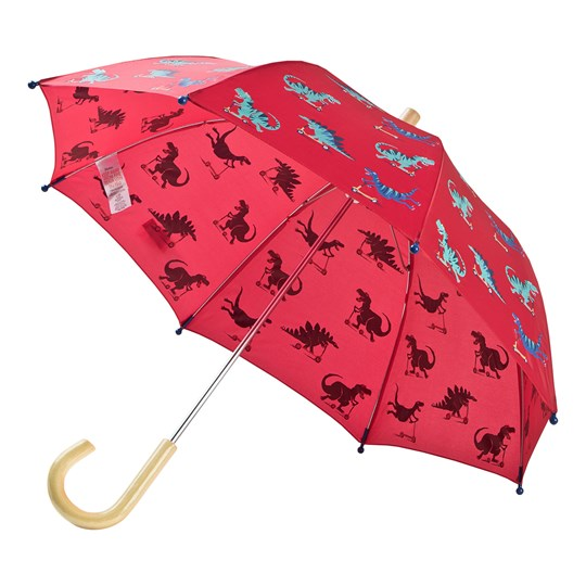 Hatley Red Scooting Dinos Umbrella RED DINOS