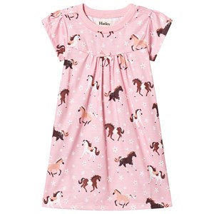 Image of Hatley Pink Frolicking Horses Nightgown 3 years (3125293261)