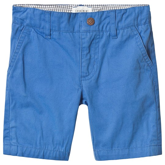 Carrément Beau Surf Blue Twill Chino Shorts 816