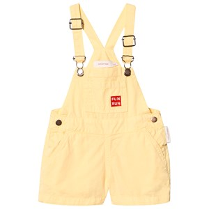 Image of Tinycottons Fun Run Short Overalls Canary 12 mdr (3125345567)