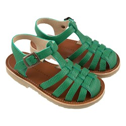Tinycottons Braided Sandals Deep Green