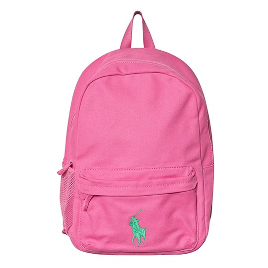 Ralph Lauren Pink Backpack with Small PP