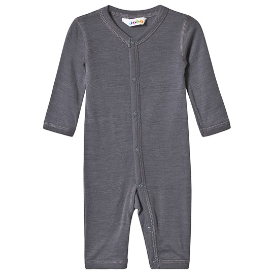 Joha Merino Wool One-Piece Grey Black