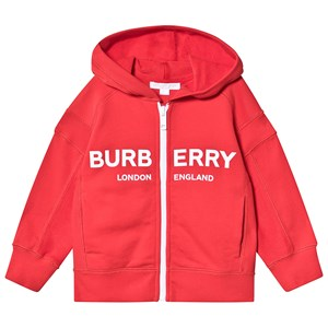 Image of Burberry Logo Hoodie Bright Red 12 years (3148272861)