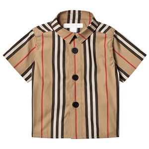 Image of Burberry Archive Beige Icon Stripe Shirt 12 months (3125358975)