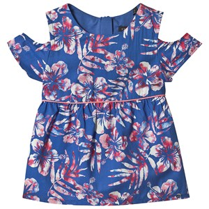 Image of IKKS Blå Hawaii Bluse Blomster Print 6 years (1338525)