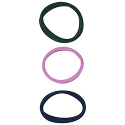 Molo 3-Pack Basic Hair Ties Lavender
