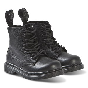 Image of Dr. Martens Black 1460 Pascal Mono Soft Leather Boots 22 (UK 5.5) (3150377145)