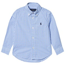 Ralph Lauren Blue Check Gingham Shirt