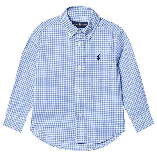 Ralph Lauren Blue Check Gingham Shirt 001